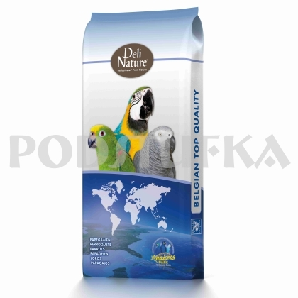 Deli Nature 25-PARROT TROPICAL FRUIT 15kg