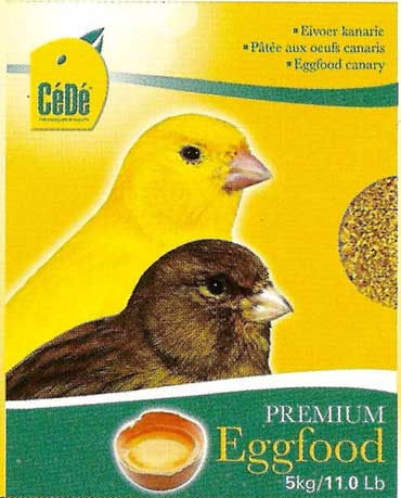 CéDé EGGFOOD CANARY 5kg