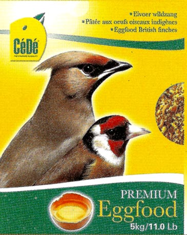 CéDé EGGFOOD BRITISH FINCHES 1kg