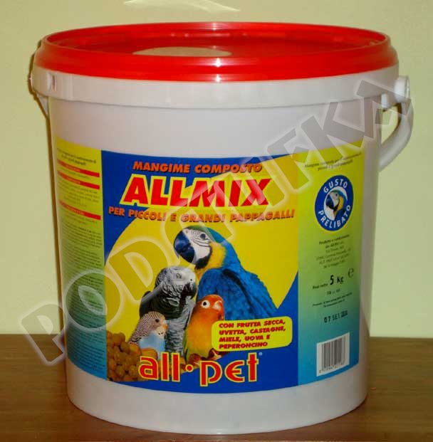 All pet ALL MIX 5kg kbelík